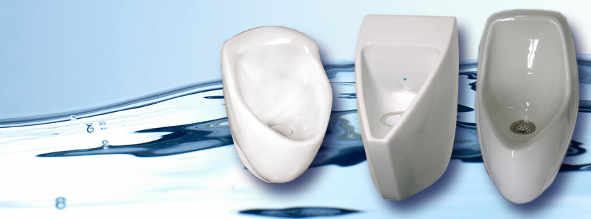 Waterless Urinals / Wasserlose Urinale